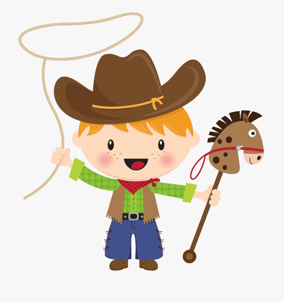 banner royalty free Little caballito de palo. Cowboy clipart