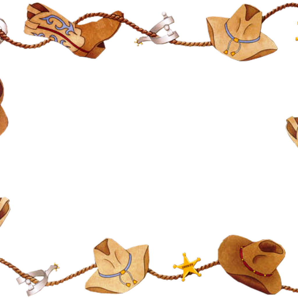 banner library Cowboy santa hatenylo com. Western clipart free