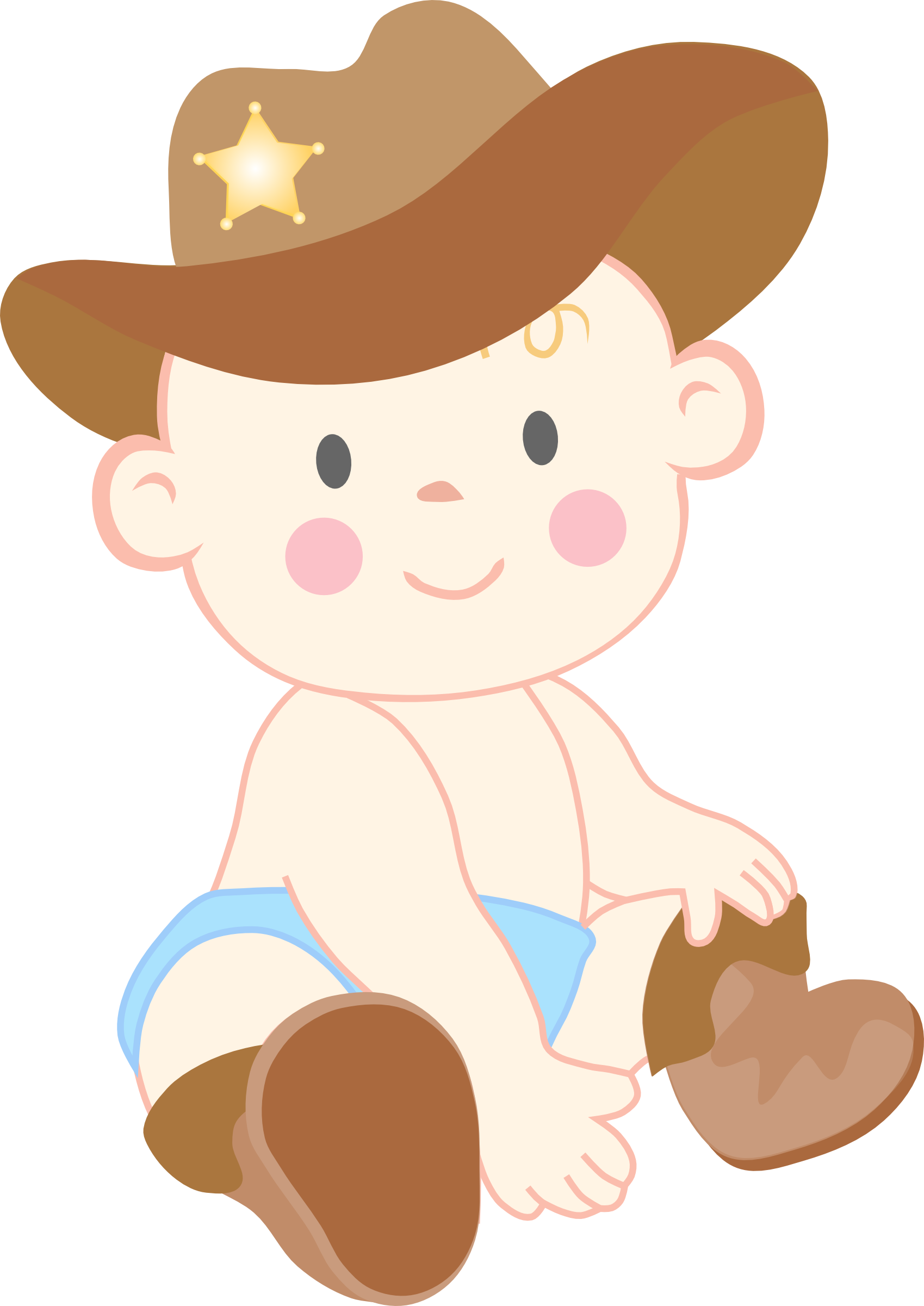 clip download Clip art baby boy. Country western clipart