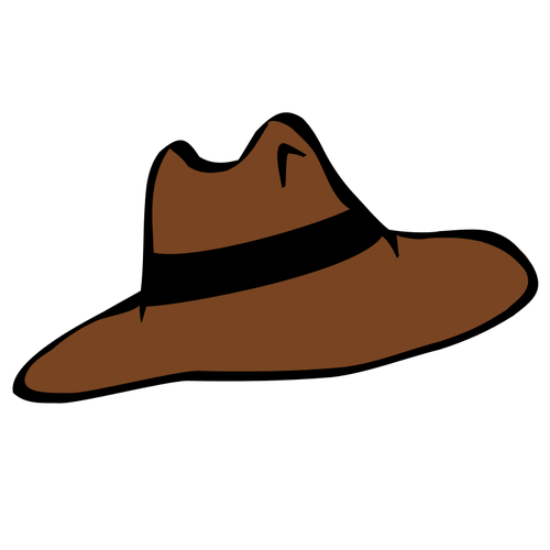 clip royalty free Cowboy Hat Silhouette Clip Art at GetDrawings
