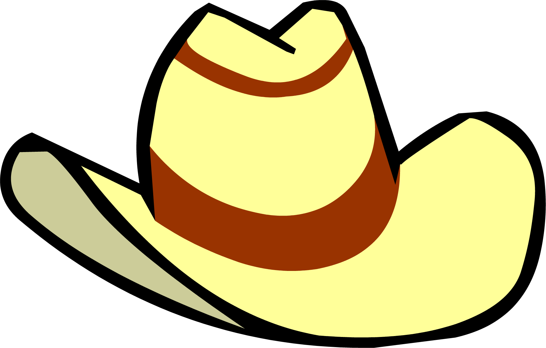 graphic black and white library Cowboy hat gear free. Western themed clipart