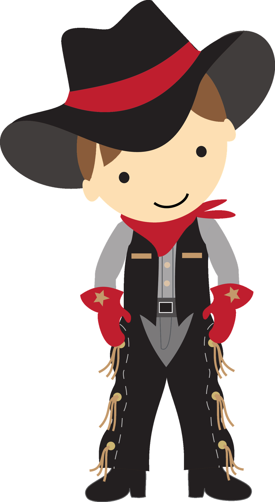 clip black and white stock Children clipart cowboy. Clip art pinterest cowboys.