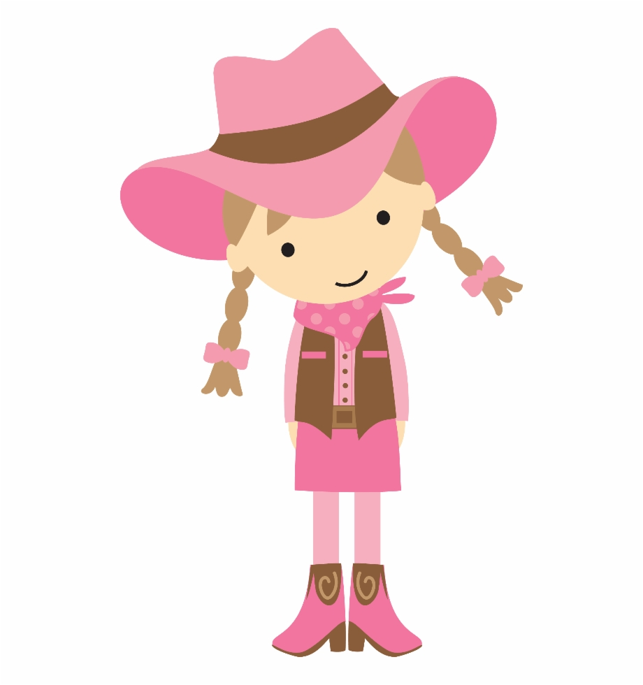 image library download Cowgirl clipart. Western party cowboy girl
