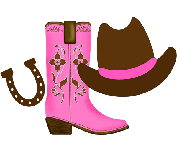 png transparent library Cowgirl clipart. With space on the