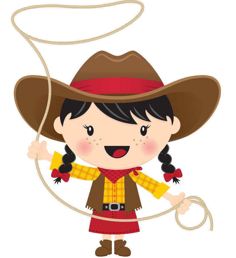 picture royalty free Wonderful ideas cowboy clip. Cowgirl clipart
