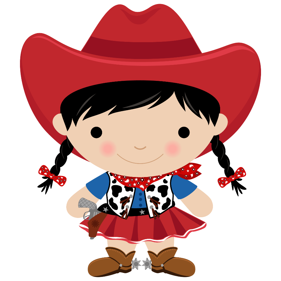 vector free download Cartoon cliparts free download. Cowgirl clipart