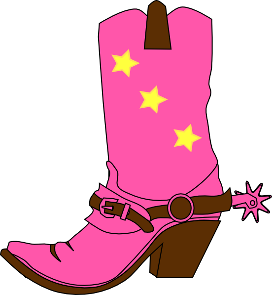 clip royalty free stock Cowgirl clipart. Hat and boot clip