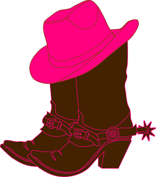 vector royalty free download cowgirl clip art free