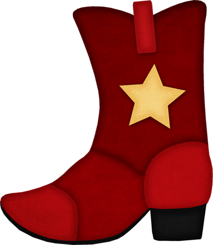 clip art royalty free stock  red cowboy boots. Free clipart western theme.