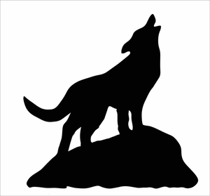 clip art download Coyote clipart. Howling free images at