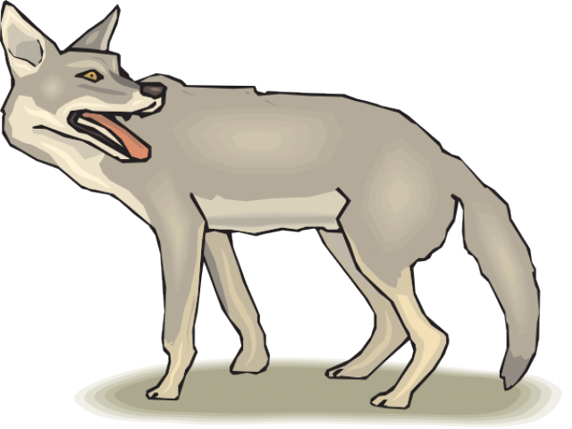 picture transparent download Coyote clipart. Free on dumielauxepices net