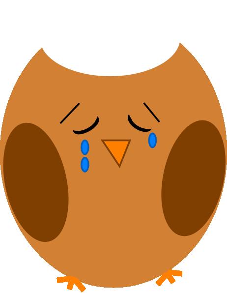 clip transparent stock Owl brown clip art. Coyote clipart sad