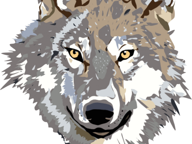 svg transparent stock Coyote clipart sad. Gray wolf free on