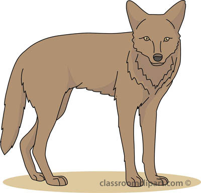 clip art free Transparent free for download. Coyote clipart sad