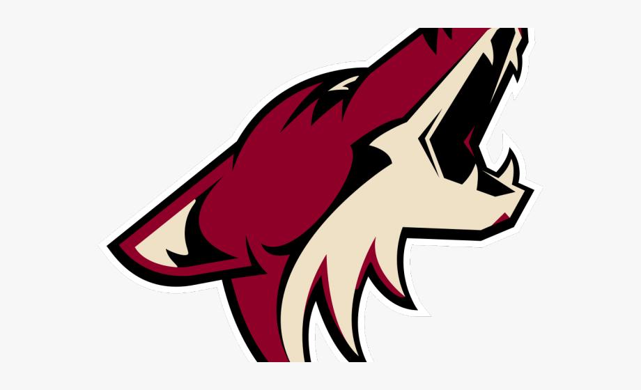 clip free stock Logo arizona coyotes . Coyote clipart sad