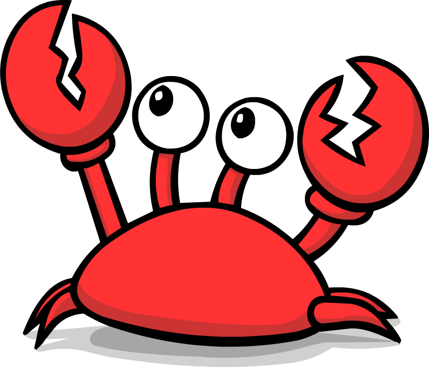 png download crab clipart angry crab clip art full resolution