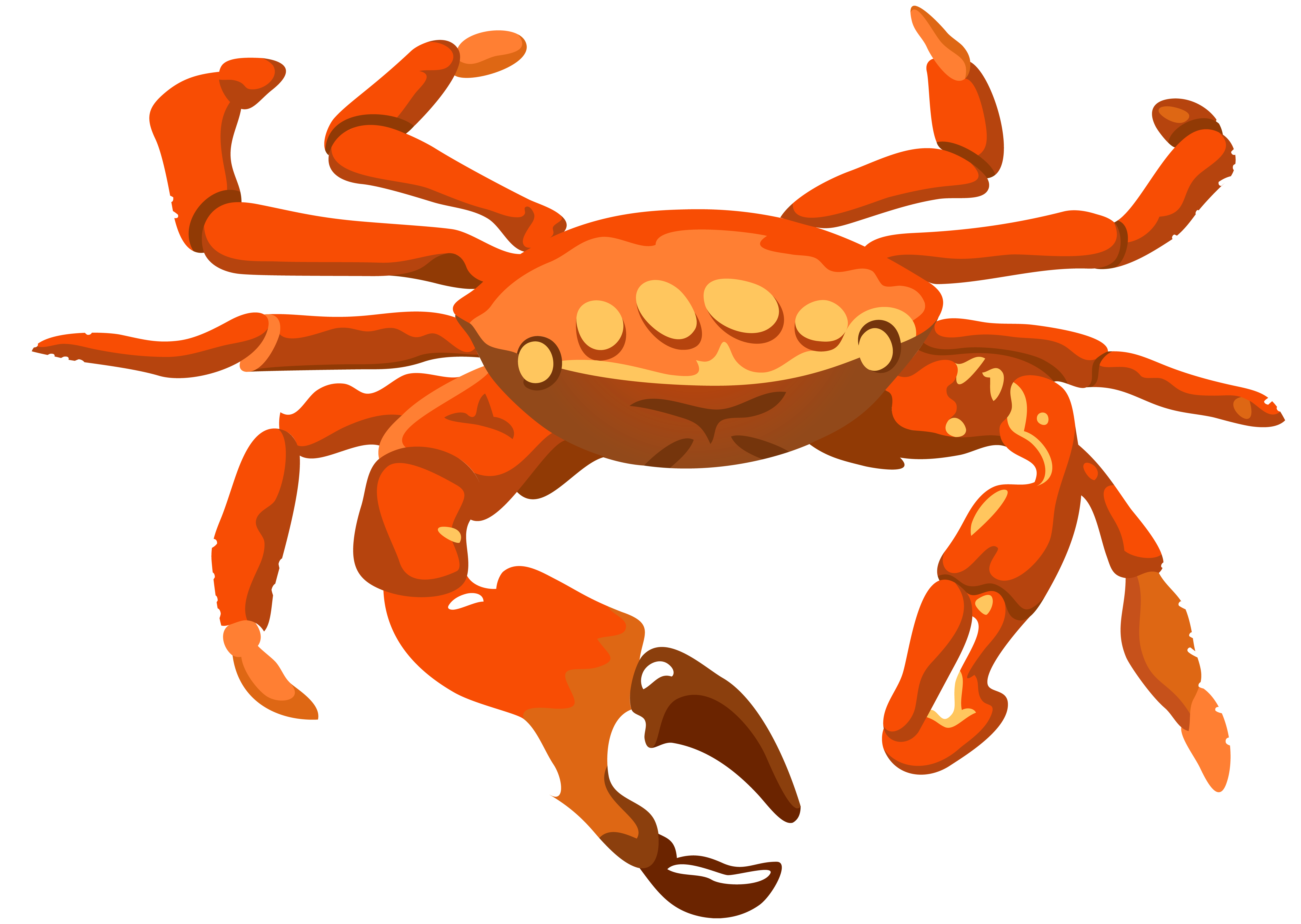 graphic black and white stock Transparent png clip art. Crab clipart.