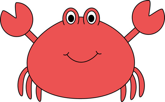 png library Crab clipart. Cute .
