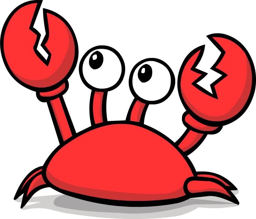 transparent Crab PNG images free dowbload