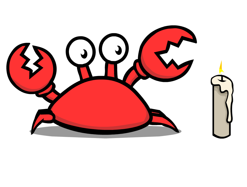 clip transparent library Klutzy pencil and in. Crab clipart club penguin