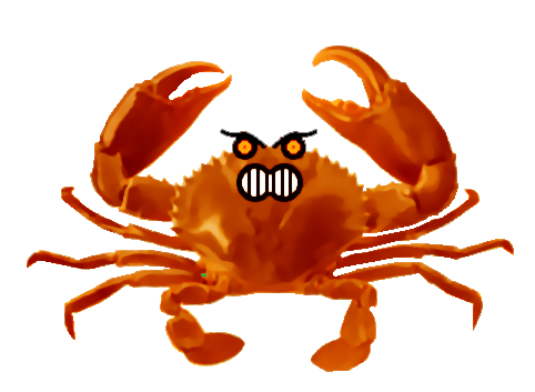 clip library stock Angry Crab by LukeLlenroc on DeviantArt