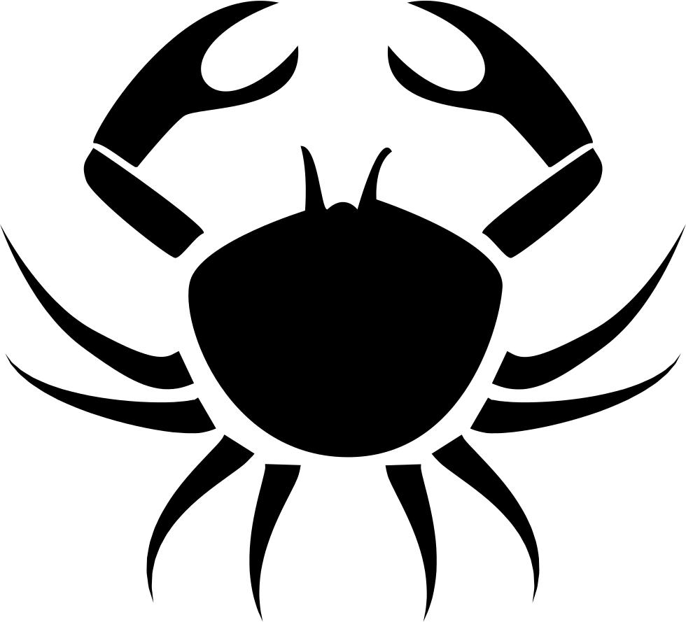svg freeuse Crab Cancer Symbol Svg Png Icon Free Download