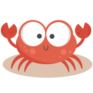banner library library Crabby crab clip art. Crabs clipart.