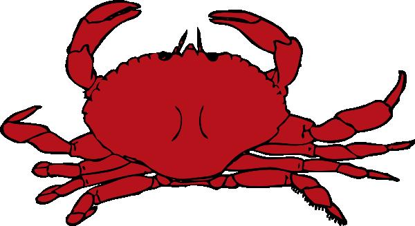 svg free stock Crab Clip Art