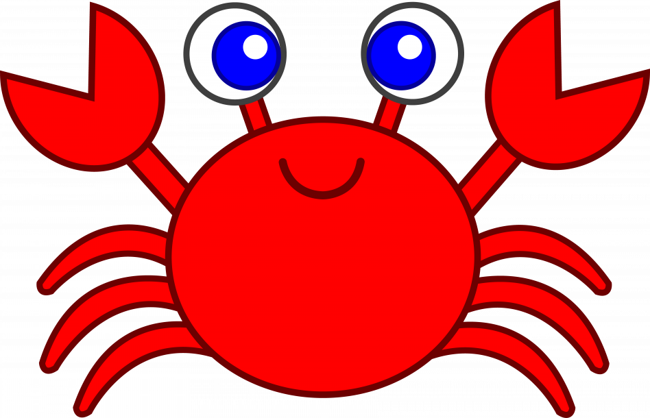 clip art royalty free download Cartoon Crab Clipart at GetDrawings