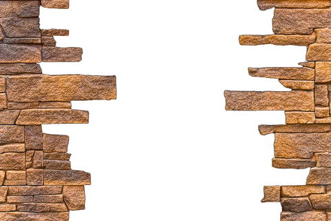 clip library Brick png transparent images. Broken wall clipart