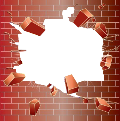 picture library stock Broken Brick Wall PNG Transparent Broken Brick Wall