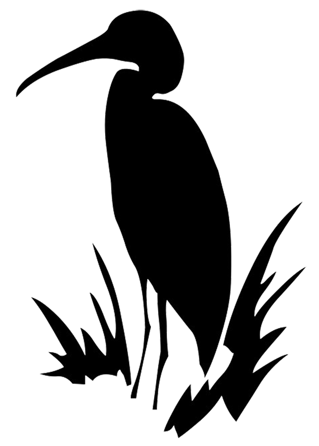 clipart free stock Drawing silhouette flying. Crane bird at getdrawings