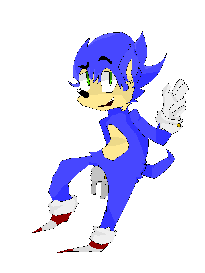clip art free A of by bluebellblur. Drawing sonic bad