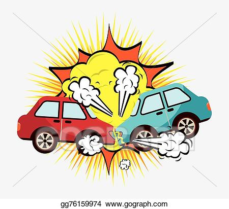 png freeuse download Vector art cars eps. Crash clipart.