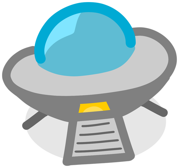 clipart library Ufo free on dumielauxepices. Crash clipart.