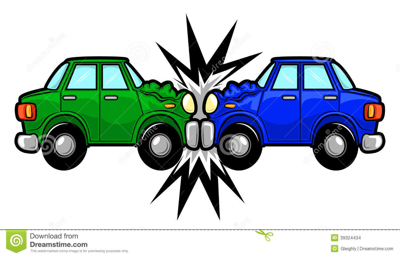 vector free library  car clip art. Crash clipart.