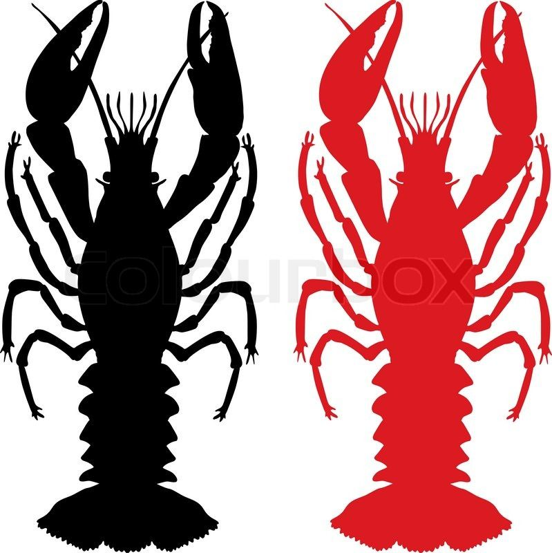 png transparent download Crawfish clipart. Free download silhouette for.