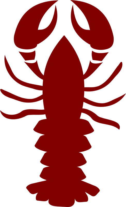 transparent Cooked lobster free on. Crawfish clipart