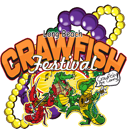 graphic transparent Largest crawfish festival outside. Louisiana clipart red.