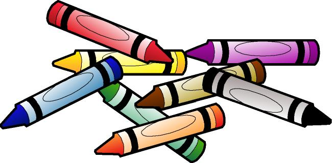 clip art stock Clip art black and. Crayon clipart