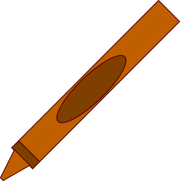 free download Crayons clipart tan. Crayon clip art at