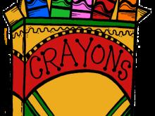 vector transparent Crayons clipart. Top clip art free