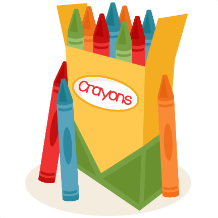 graphic free library Crayons clipart. Pin by elena stoica.