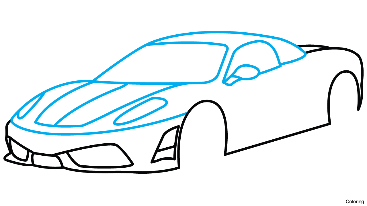 clip download Car Side View Drawing at GetDrawings