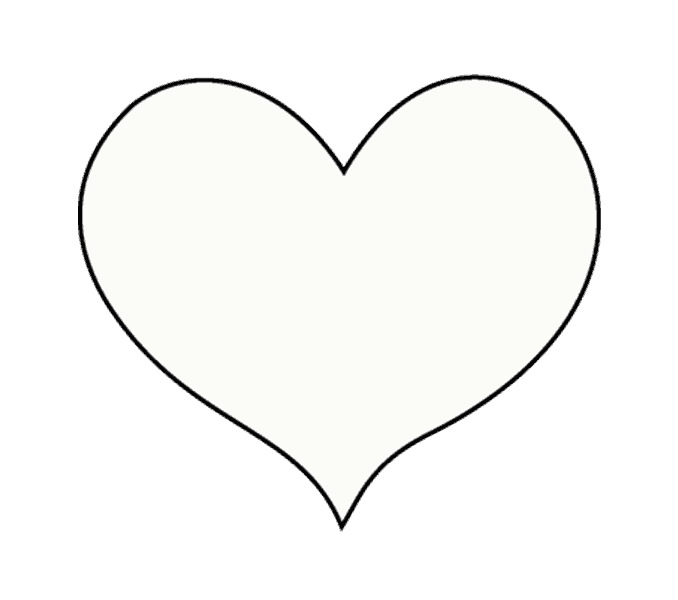 black and white library How to draw a. Drawing pic heart