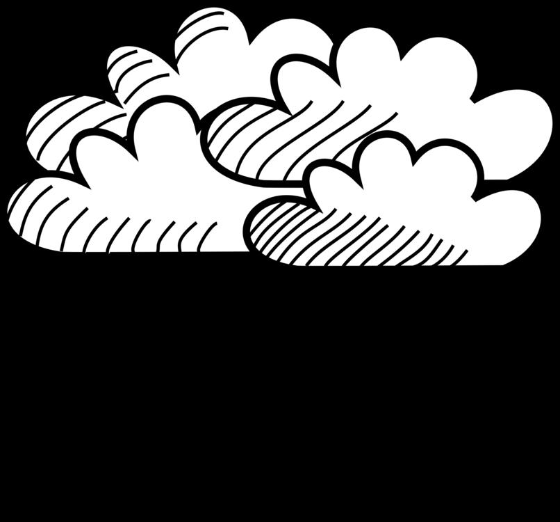 clip free library Rain line art cloud. Drawing nature rainy season