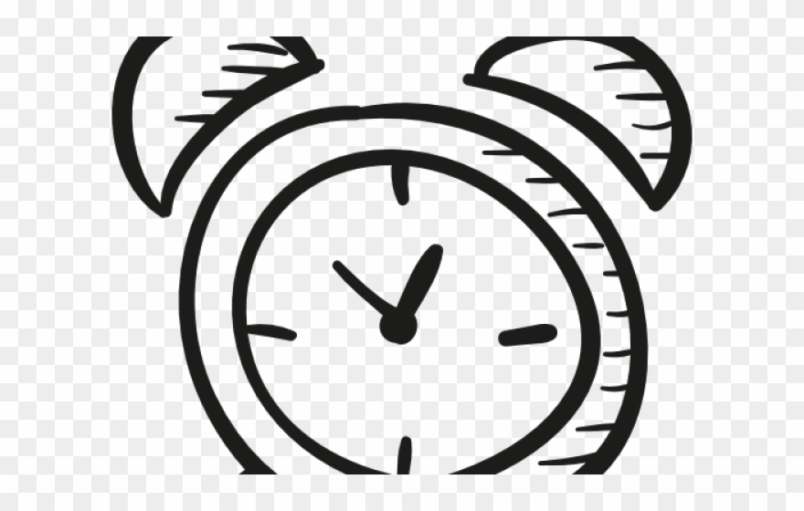 graphic black and white stock Crazy clipart clock. Alarm drawing easy png