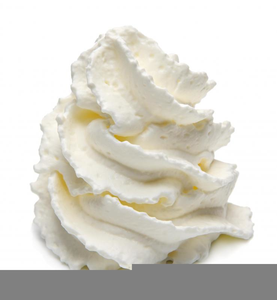 picture free stock Cream clipart. Can whipped free images