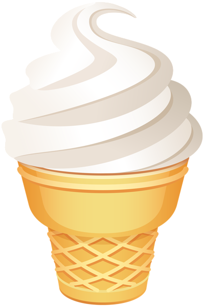 png black and white library Ice Cream Cone PNG Clip Art Image