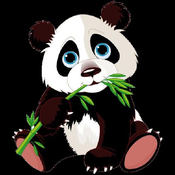 freeuse stock Panda bear clipart. Bears cartoon animal images